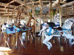 Seaport Village historic carousel San Diego c1905