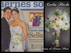 Bouquet de Novia Publicado en primera plana de sociales.