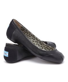 Look what I found on #zulily! Black Camilia Classics Ballet Flat #zulilyfinds