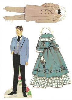 les 4 filles du docteur March Mostly Paper Dolls: Little Women