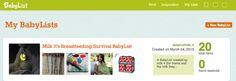 Create a Breastfeeding-Friendly Baby Registry!  Milk It Musings   Milk It http://babyli.st/milk_it