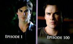 Damon Salvatore ~ Then & Now