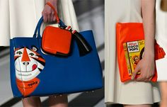 Would You Rather: Moschino's Fast Food Handbags Or Anya Hindmarch's Cereal Carryalls?