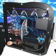 CoolIT and Kobalt Computers showcase extreme PC cooling