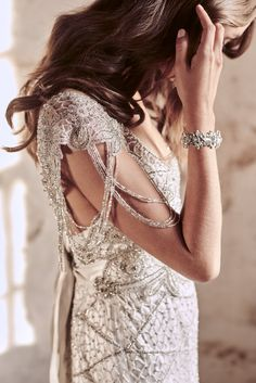 Anna Campbell 2018 Eternal Heart Collection Grace Dress | Vintage-inspired hand-embellished wedding dress
