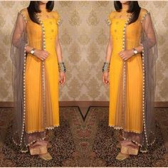Made on order Gorgeous georgette suit with gottapatti and pearl work 😍 Price ; INR 2999 + shipping WhatsApp at to order…Stylish kurti designs for women - ArtsyCraftsyDadImage may contain: one or more people and people standingFor my lehangaThe O Kurta Designs Women, Salwar Designs, Kurti Designs Party Wear, Salwar Suits Party Wear, Party Wear Dresses, Indian Designer Suits, Indian Gowns, Indian Wear, Indian Sarees