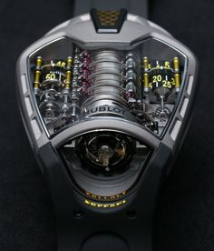 The first thing that strikes you when you see the MP-05 La Ferrari is, how completely different this watch is from any Hublot you've ever seen. Designed to resemble the engine compartment of …