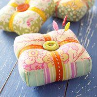 pin cushions- cute!