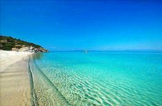 Haldiki, Greece Please take me here! At the Peaceful Ocean Sea and Sky Blue Beach with Peaceful Fantastic Water to Enjoy.