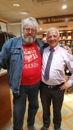 Me in The Shop with the Man Who knew Rory & where Rory bought His Shirts