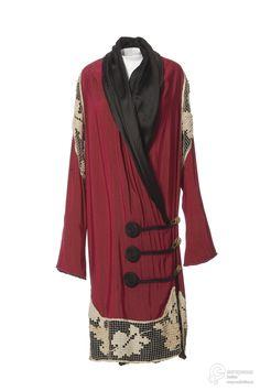 Evening coat, Paul Poiret, 1910-15.