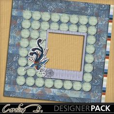 Digital Scrapbooking Kits | Asian Art 12x12 QP1-(carolnb) | Calendars, Decorative, Fantasy, Holidays - Chinese New Year, Religious, Vacations - Travel | MyMemories