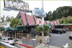 Mel's drive-in ~ Sunset Blvd.  Our first date...tuna melt & fries