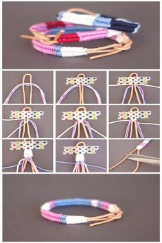 #Bracelet #tutorial #diy #bracelet braided bracelet craft gifts colourful yarn diy tutorial step by stepbrp classfirstletterThe impressive piece We Offer You About braceletpIt is one of the best choice quality Picturess that can be presented with this vivid and remarkable figure bracelet tutorialblockquoteThe image named braided bracelet craft gifts colourful yarn diy tutorial step by step is one of the Most tastefully icons on our plate The width of 700 and height 1622 of this icon has been… Bracelet Fil, Bracelet Crafts, Crochet Bracelet, Bracelet Making, Cute Friendship Bracelets, Braided Bracelets, Leather Bracelets, Gold Bracelets, Wrap Bracelets