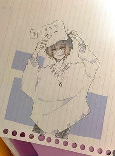 Anime Drawings Sketches, Anime Sketch, Kawaii Drawings, Cute Drawings, Manga Art, Manga Drawing, Anime Art, Cute Art Styles, Cartoon Art Styles
