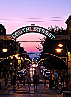 South Street, Philadelphia by shaggyshoo, via Flickr
