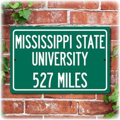 Mississippi State University Personalized Highway by Travelsigns, $19.95