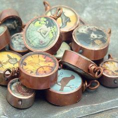 Copper Pipe Jewelry ~ wow - where has THIS idea been all my life? :-)