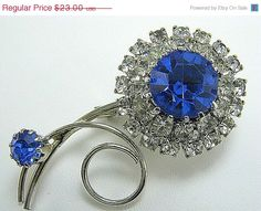 Blue Sapphire Elegance - Gift Guide by Christine Behrens on Etsy