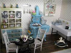 29 Perfetc and Cheap Shabby Chic Kitchen Accessories Ideas