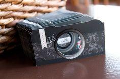 camera die cut card template