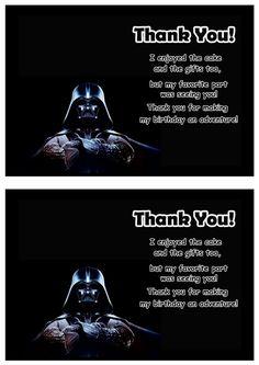 Star Wars Geburtstagskarten Zum Ausdrucken Kostenlos | Geburstags  Einladungkarten