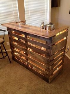 Pallet Bar Learn more about Mike Bolger. http://www.mikebolger.ca/ #MikeBolger #Kitchener #kitchenerrealestate #realestateinwaterloo #bestrealestateagent #coldwellbanker