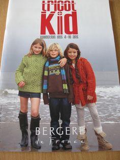 Catalogue BERGÈRE DE FRANCE n°144 Tricot kid - 4 à 16 ans - AUTOMNE / HIVER . : Matériel Tricot par krupsy