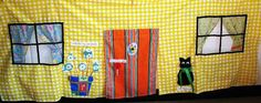 This rainy day Indoor Playhouse will keep your little ones busy for hours on Etsy, $10.00