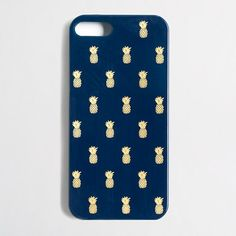 Factory pineapple print phone case for iPhone 5