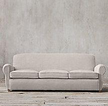 8' Parisian Upholstered Sofa