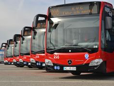 Kieler Verkehrsgesellschaft mit neuen Citaro 2-Bussen - http://k.ht/2JH