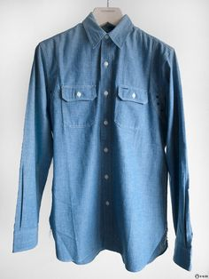 Double RL - Selvadge Chambray Work Shirt — E-G