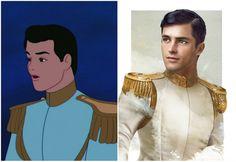 Как диснеевские принцы выглядели бы в реальной жизни. ФОТО | ves(точка)lv