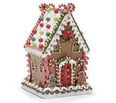 Possible gingerbread house idea-cute!