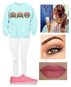 """""""❤️❤️❤️"""" by victoriamajors ❤ liked on Polyvore featuring Topshop, Vans and She's So"""