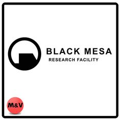 Black Mesa Research Facility Game logo, Half Life Stickers, laptop,xbox,ps4