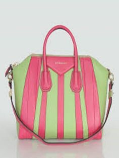 Dolce & Gabbana pink and green leather-trimmed woven tote ...