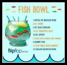 Fish bowl gotta have 1 when I turn 21