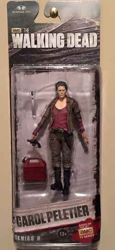 Carol THE WALKING DEAD toy