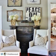8 more days...8 more days.....Maybe if we keep saying it, the time will go faster!  We love Karianne....every last little thing about her!  And her collection?? Flawless!  We can't wait to share it with you! #Repost @thistlewood ・・・ I think hydrangea are my favorite flower.  I cut them fresh from the bush and filled buckets with them today.  And now the house smells like summer.  #summerdecorating #dontleavemenow #fallholdyourhorses