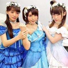 [SEIYUU] Love Live!'s Emi Nitta, Aya Uchida and Suzuko Mimori imitate their characters' pose