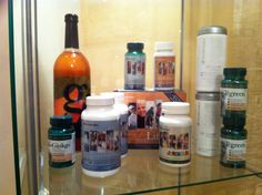 My Pharmanex essentials to keep young, fit and healthy everyday!!  Mis esenciales de Pharmanex para mantenerme joven, fuerte y sano cada día !! Nu Skin, Fire Extinguisher, Nutritional Supplements, Vodka Bottle, Cleaning Supplies, Wellness, Products, Ageing, Strong