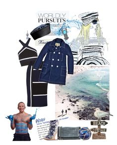 """*AHOY SAILOR !*"" by scapin ❤ liked on Polyvore featuring Stephen Webster, STELLA McCARTNEY, Bottega Veneta, Jonathan Simkhai and Jean-Paul Gaultier"