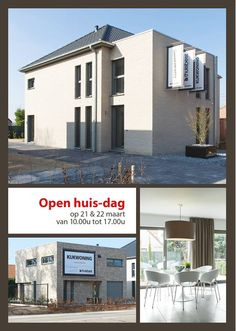 Openhuis | Thuisbest Woningbouw thuisbest.be zaterdag 21 & zondag 22 maart 2015