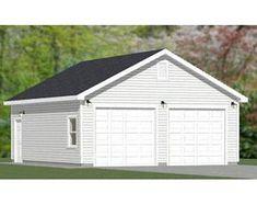 barn style shed plans Archives - DIY Shed Plans Shed Building Plans, Diy Shed Plans, Building A Garage, 2 Car Garage Plans, Garage Ideas, Carport Plans, Rv Garage, Garage Exterior, Diy Shed Kits