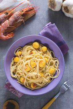 Pasta con polpettine di pesce! Buonissima!  #Giallozafferano #pesce #pasta #spaghetti #ricetta