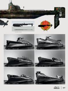 Concept Submarine & Ships - Fallout 4
