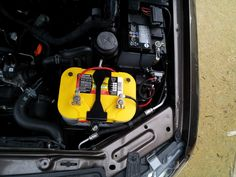TJM Battery Tray with Optima Battery
