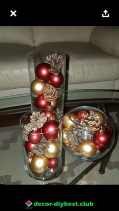 Dollar Store Christmas Table Centerpieces - Wine Glass Candle Holders - Happy Christmas - Noel 2020 ideas-Happy New Year-Christmas Simple Christmas, Beautiful Christmas, Christmas Home, Christmas Holidays, Country Christmas, Christmas Snowman, Nordic Christmas, Modern Christmas, Gold Christmas